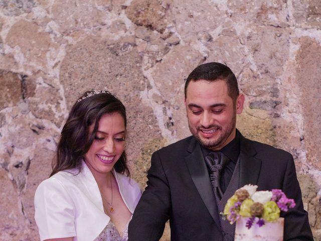 La boda de Oscar y Iris en Huasca de Ocampo, Hidalgo 132