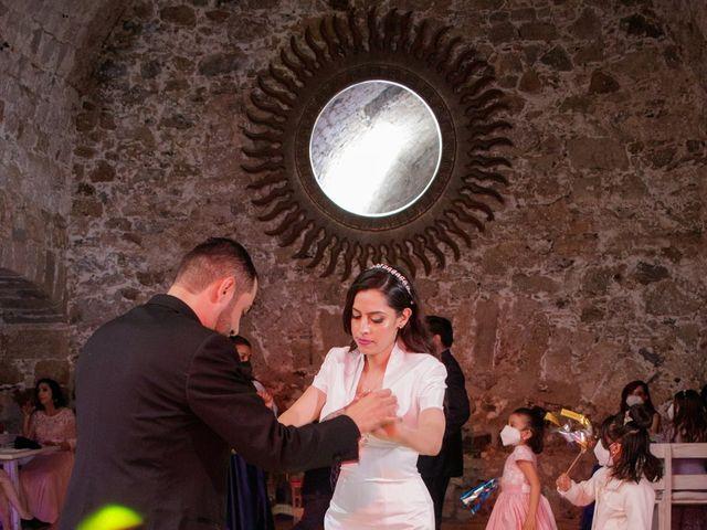 La boda de Oscar y Iris en Huasca de Ocampo, Hidalgo 133