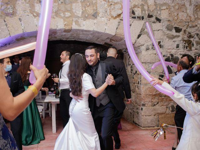 La boda de Oscar y Iris en Huasca de Ocampo, Hidalgo 134