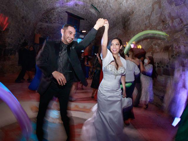 La boda de Oscar y Iris en Huasca de Ocampo, Hidalgo 135