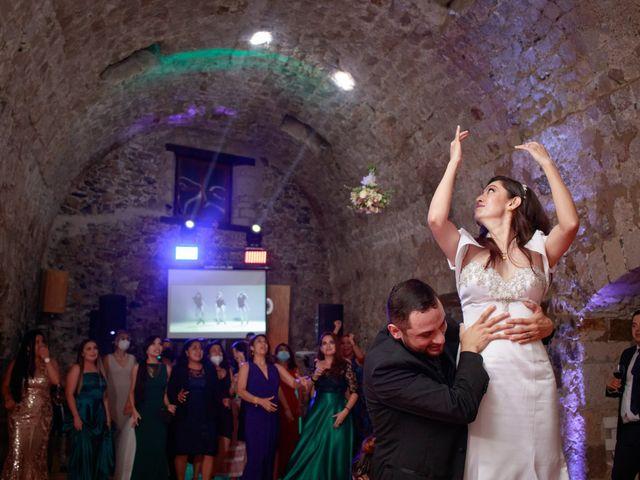 La boda de Oscar y Iris en Huasca de Ocampo, Hidalgo 141