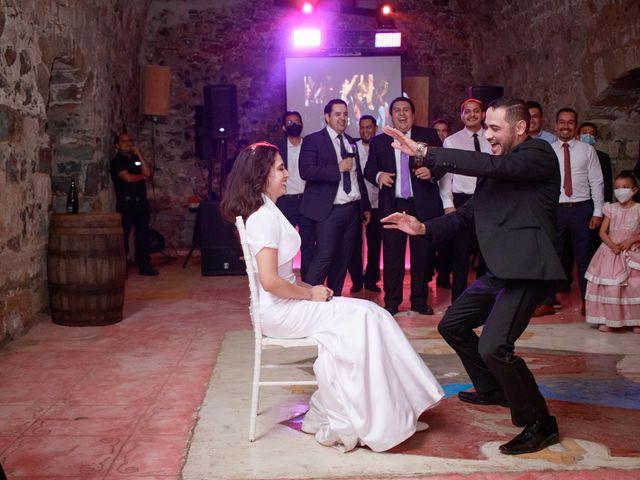 La boda de Oscar y Iris en Huasca de Ocampo, Hidalgo 144