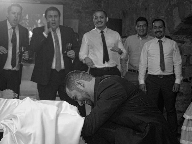 La boda de Oscar y Iris en Huasca de Ocampo, Hidalgo 145