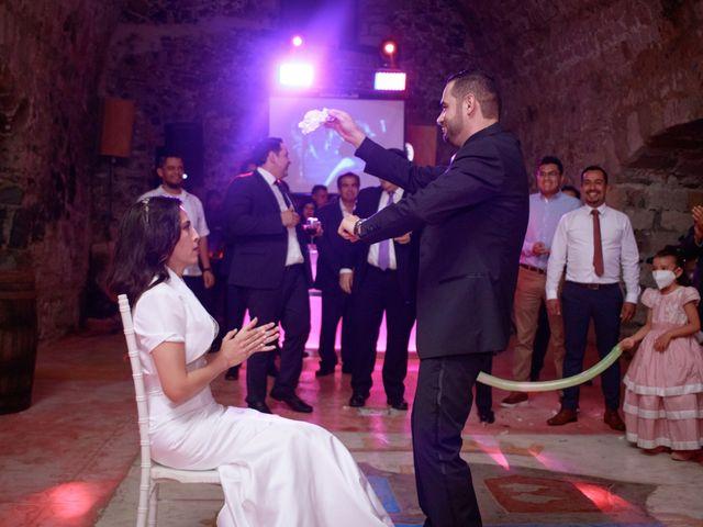 La boda de Oscar y Iris en Huasca de Ocampo, Hidalgo 147