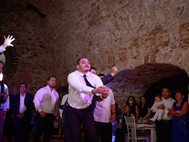 La boda de Oscar y Iris en Huasca de Ocampo, Hidalgo 153
