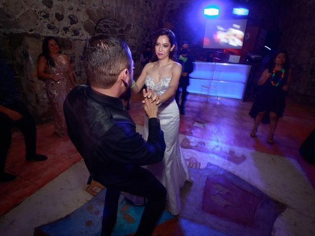 La boda de Oscar y Iris en Huasca de Ocampo, Hidalgo 158