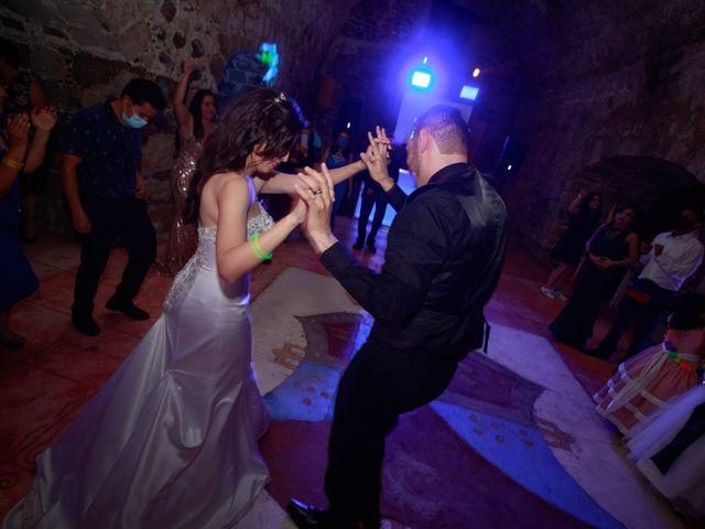 La boda de Oscar y Iris en Huasca de Ocampo, Hidalgo 159