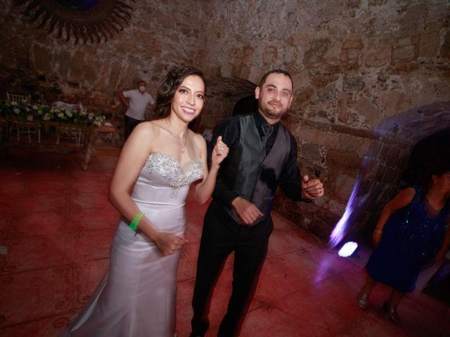 La boda de Oscar y Iris en Huasca de Ocampo, Hidalgo 160