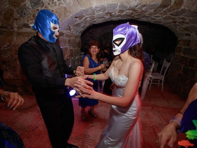 La boda de Oscar y Iris en Huasca de Ocampo, Hidalgo 161
