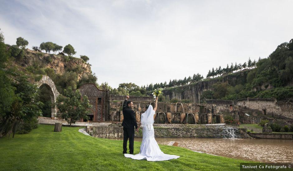 La boda de Oscar y Iris en Huasca de Ocampo, Hidalgo