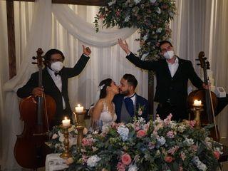 La boda de Karla y Mesach