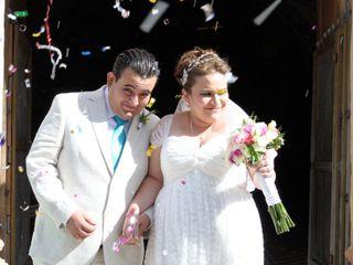 La boda de Rosa Isabel  y José Alfonso  1