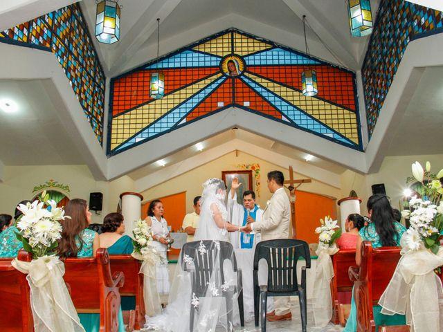 La boda de Shirley y Bertino