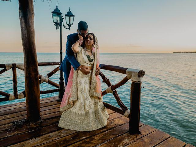 La boda de Kusboo y Archit