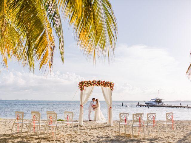La boda de Jess y Pay en Isla Mujeres, Quintana Roo 24