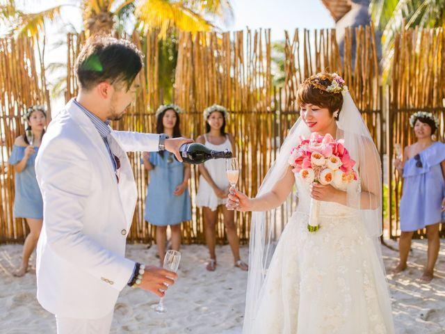 La boda de Jess y Pay en Isla Mujeres, Quintana Roo 28