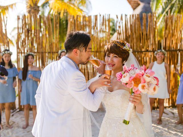 La boda de Jess y Pay en Isla Mujeres, Quintana Roo 33