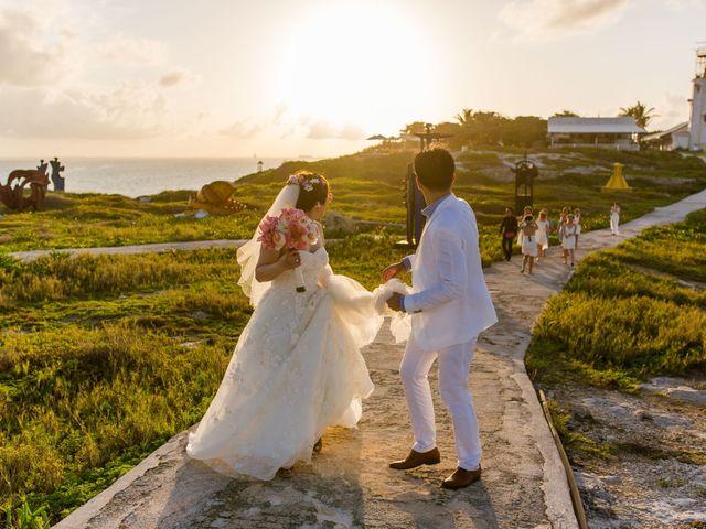 La boda de Jess y Pay en Isla Mujeres, Quintana Roo 34