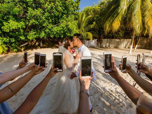 La boda de Jess y Pay en Isla Mujeres, Quintana Roo 35