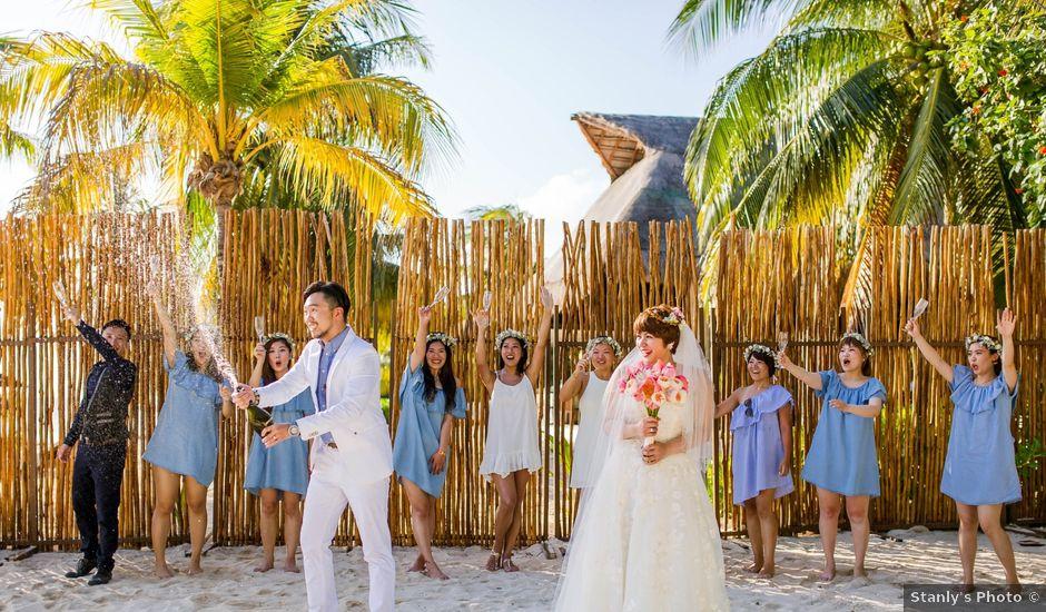 La boda de Jess y Pay en Isla Mujeres, Quintana Roo