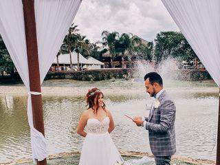 La boda de Mariano Alberto  y Kassandra