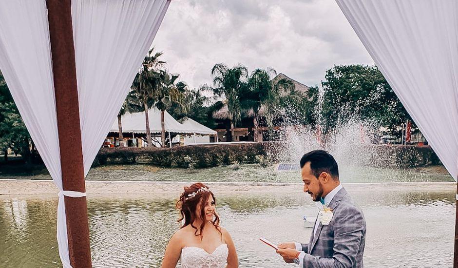 La boda de Kassandra  y Mariano Alberto  en Allende, Nuevo León