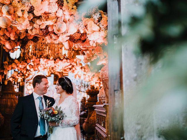 La boda de Andrea y Michell