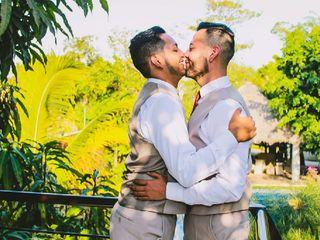 La boda de Carlos y Ricardo