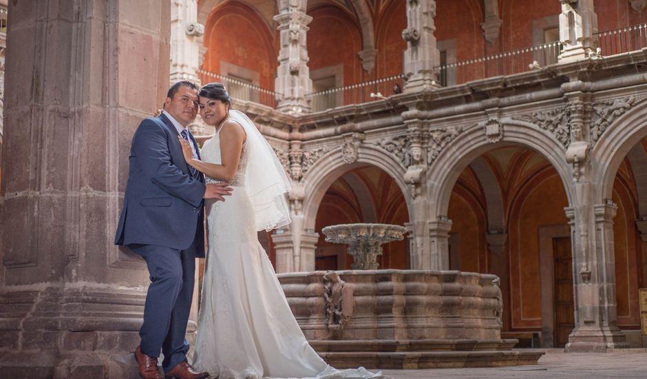 La boda de José Antonio y Cecilia en Querétaro, Querétaro