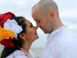 La boda de Rosario y Pete 1