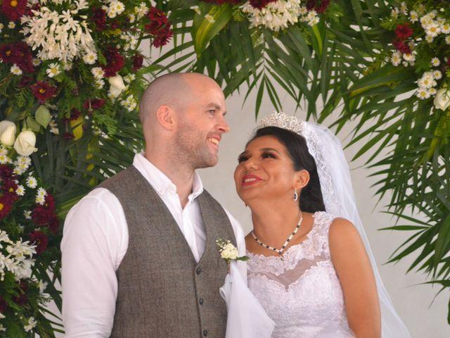 La boda de Rosario y Pete