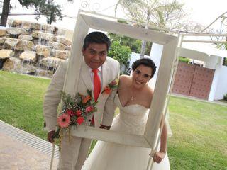 La boda de Izaret  y Oscar