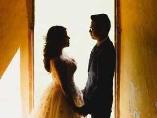 La boda de Alberto y Zenet