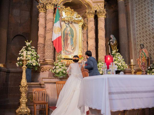La boda de Ulises y Paola en San Juan del Río, Querétaro 35