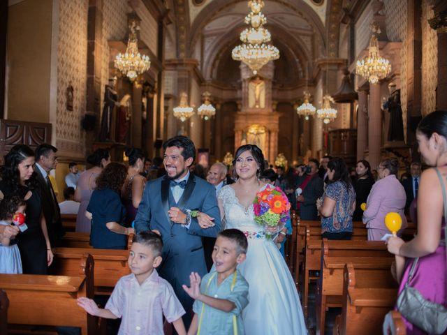 La boda de Ulises y Paola en San Juan del Río, Querétaro 36