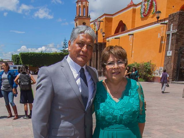 La boda de Ulises y Paola en San Juan del Río, Querétaro 38