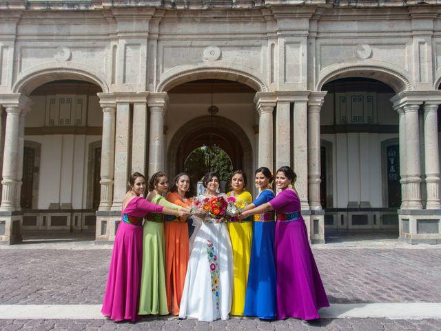 La boda de Ulises y Paola en San Juan del Río, Querétaro 42