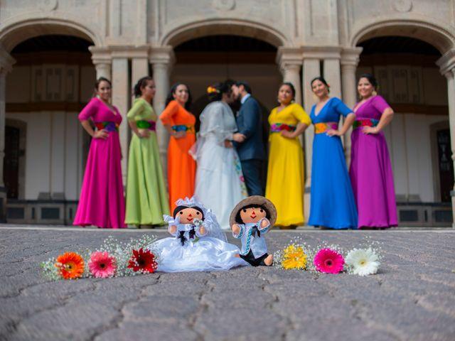 La boda de Ulises y Paola en San Juan del Río, Querétaro 1