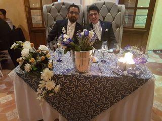 La boda de Omar y Tony