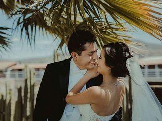 La boda de Majo y Jorge