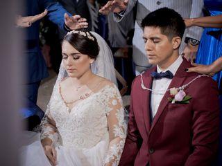 La boda de Jazel y Magdiel