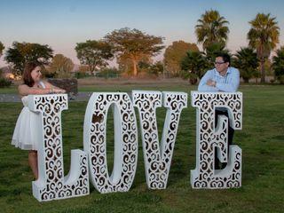 La boda de Diego y Anahi