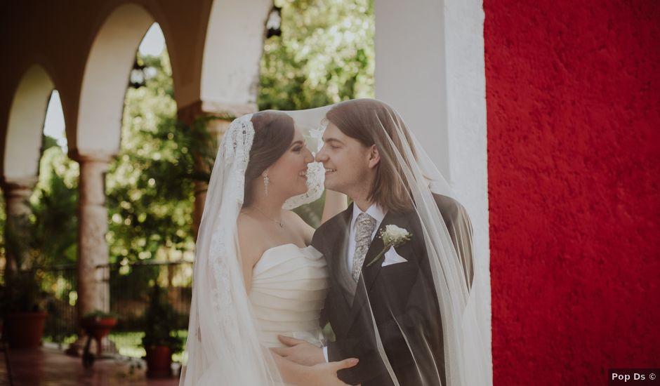 La boda de Niclas y Danielle en Mérida, Yucatán