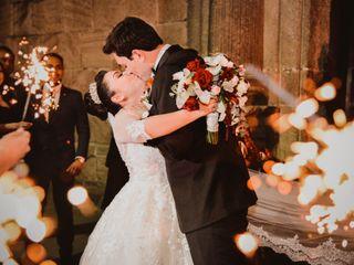 La boda de Giselle y David