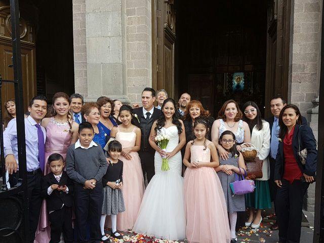 La boda de Fernando y Rocio en Toluca, Estado México 19
