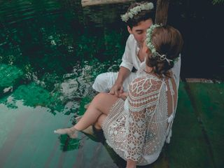La boda de Yumilaki y Nelson 1