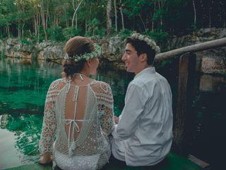 La boda de Yumilaki y Nelson 2