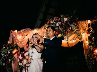 La boda de Dany y Elías