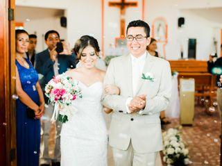 La boda de Marbel  y Jhonny