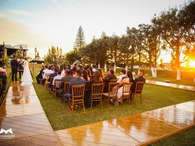 La boda de Óscar  y Deha  en Comala, Colima 11